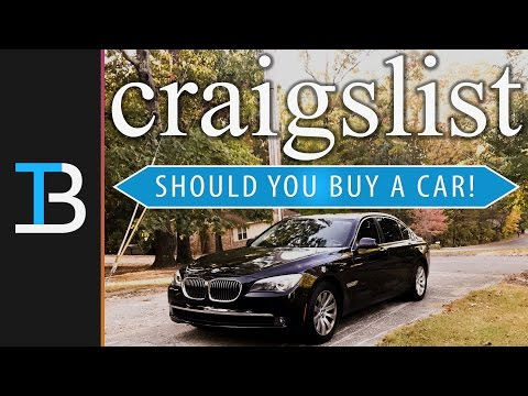 Should you Buy A Car Off Craigslist (How To Buy A Good Used Car On Craigslist!)