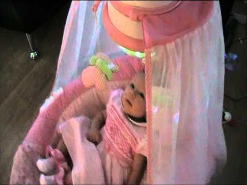 Fisher Price Butterfly Sparkle Papasan Cradle Swing Pink For Baby Girls