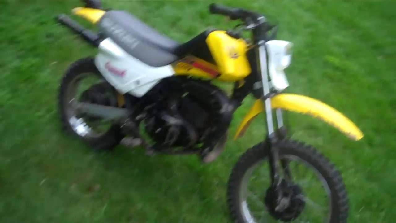 Suzuki Ds 80 on