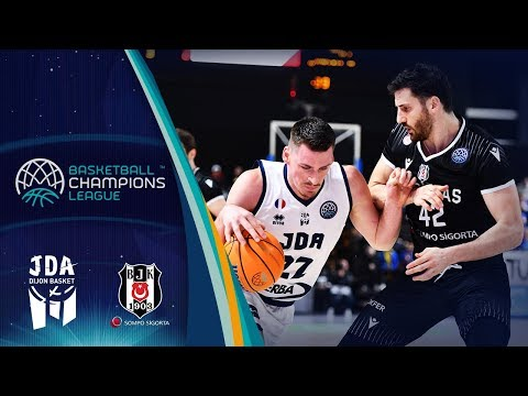 Jda Dijon V Besiktas Sompo Sigorta – Highlights – Basketball Champions League 2019-20