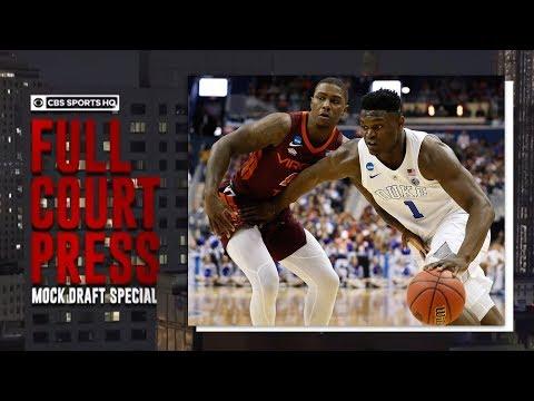 2019 NBA Mock Draft 3.0  CBS Sports HQ