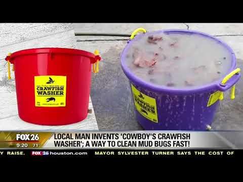 Cowboy's Crawfish Washer on FOX 26 Houston's Morning News