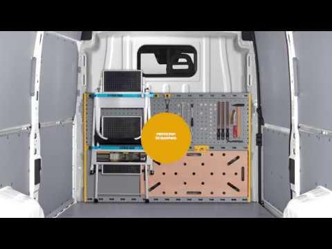 Protector de mampara para furgonetas Store Van