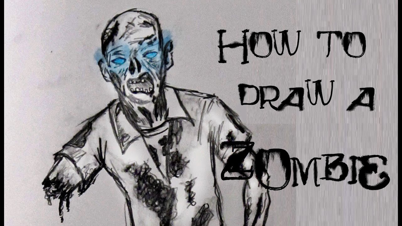 Ep 32 How To Draw A Zombie From Black Ops 2