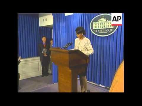 Condoleezza Rice picked to replace Powell
