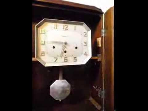 Vedette Westminster And Ave Maria Chime Wall Clock Youtube