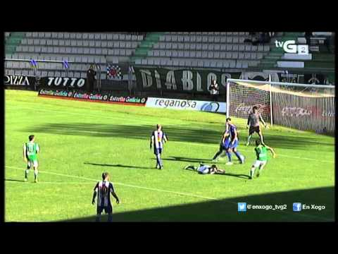 Vídeo Racing Ferrol - Izarra (1-1)