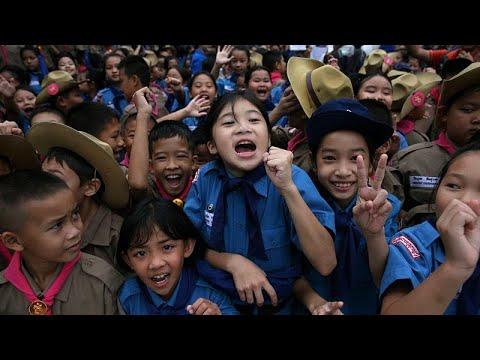 Alegria e alívio na Tailândia