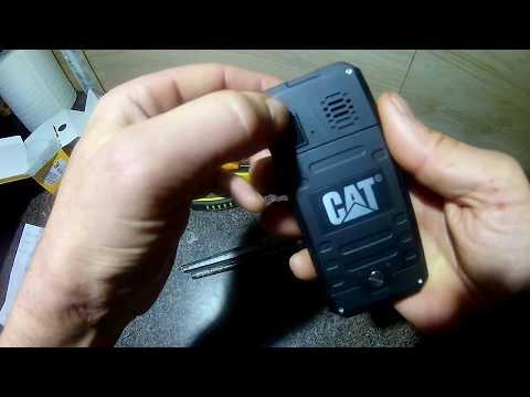 CATerpillar  B30 Обзор Телефон в  Третьи Страны