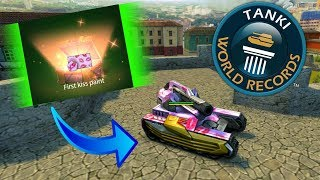 *Not Clickbait!* First Kiss Paint from Containers! So lucky! | Tanki Online - танки Онлайн