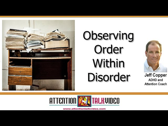 ADHD: Disorganization by the Door