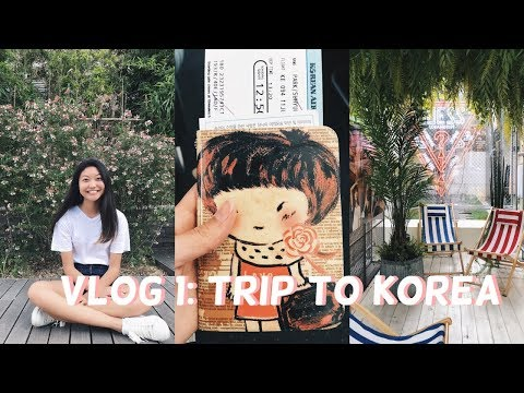 KOREA VLOG 1: TRIP TO KOREA (shopping & whole rooftop to ourselves in gangnam)