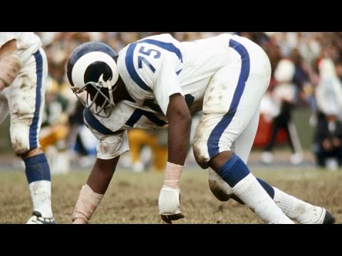 #15: David 'Deacon' Jones | The Top 100: NFL's Greatest Players (2010) | #FlashbackFridays