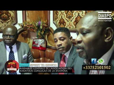Les Travaux de l'Assemblée Générale de l'Associatin des Karatékas Congolais de la Diaspora