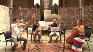 Klasik Keyifler 2013 - Chamber Music Extravaganza - J. Turina - String Quartet Prelude