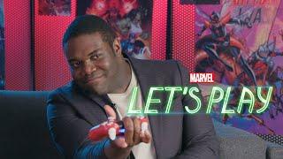 Veep's Sam Richardson becomes Spider-Man! | Marvel Let's Play