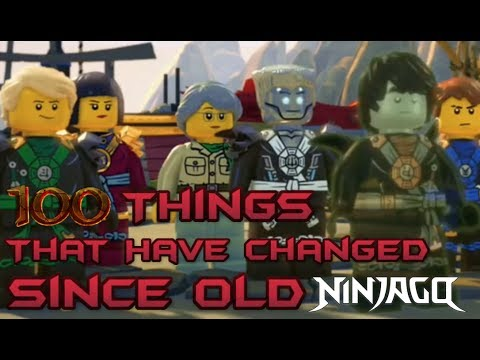 100 Things That Have Changed Since Old Ninjago [Spoilers Ahead] en streaming