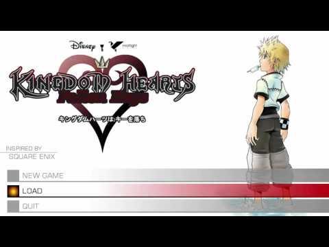 RPG Maker MV - Kingdom Hearts Title Screen Test