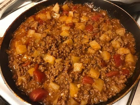 Taco Tuesday - Picadillo Tacos