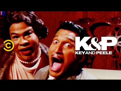 """""""Baby, It's Cold Outside"""" Is Super Creepy (Parody Song) - Key & Peele"""