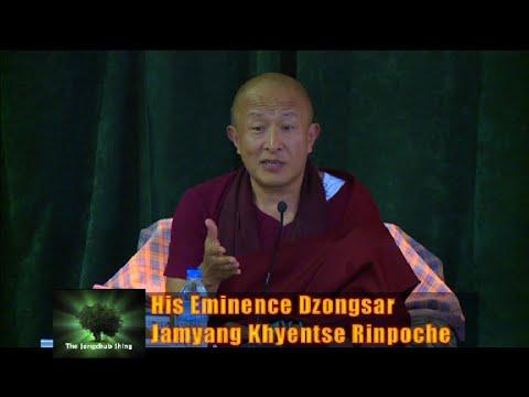 "Jangchub Shing with Dzongsar Jamyang Khyentse Rinpoche on ""The Guru Rinpoche Principle"" (Extened)"
