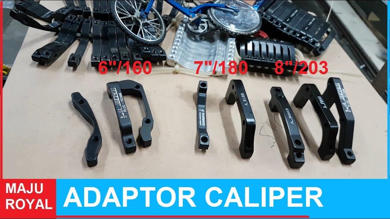 Adaptor Caliper Disc Brake Pm Is Youtube