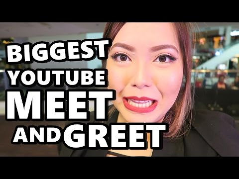 BIGGEST YOUTUBE MEET & GREET! (March 5, 2017) - saytioco