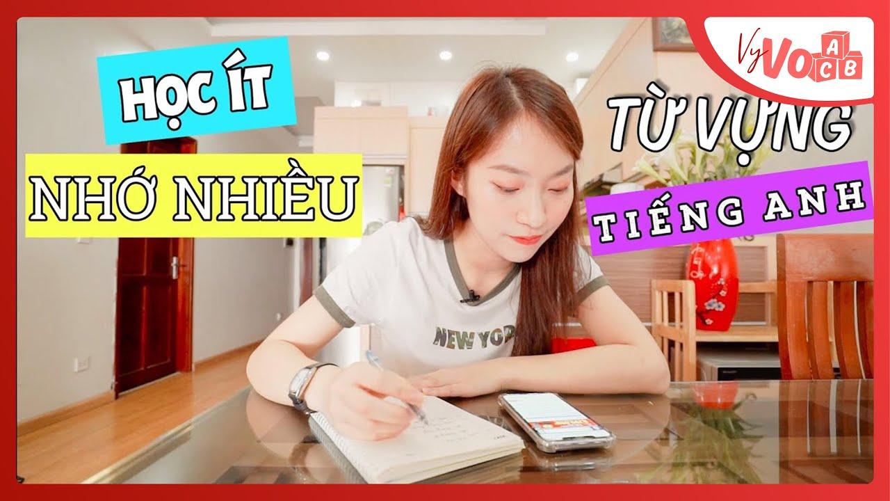 Cách tự học từ vựng Tiếng Anh mỗi ngày để lên trình | VyVocab Ep.52 | Khánh Vy