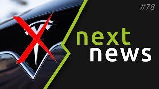 nextnews #78 - Tesla verklagt, Model 3 erhält Ritterschlag, kWh-Preis 2020, Porsche Verlosung
