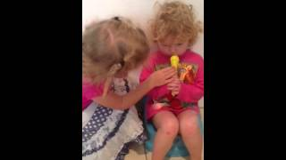 Sophie interviews Ruby about potty training