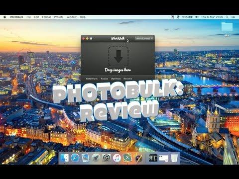 PhotoBulk (Bulk image editor and optimiser): Review