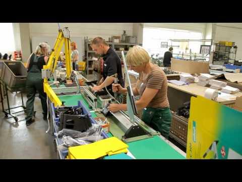 wolfcraft production plant Slovakia - english version