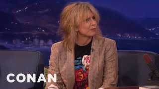 Chrissie Hynde Takes The Bus In Los Angeles  - CONAN on TBS