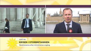 """Ny utrikesminister utsedd i Storbritannien – """"Han är ett stabil och tråkig"""" - Nyhetsmorgon (TV4)"""