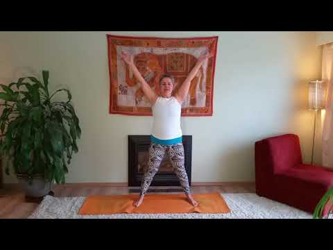 GENTLE mini morning YOGA  practice,  33 minutes   GUIDED