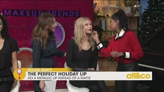 Holiday Beauty Tips with Makeup Artist Alicia Oliveri