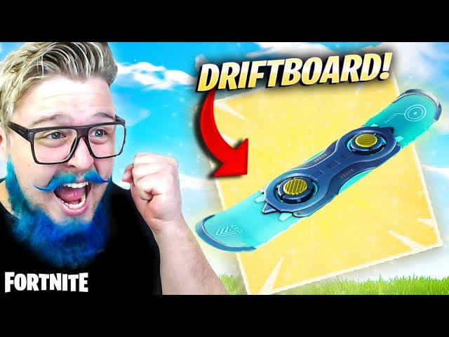 FINALMENTE! DRIFTBOARD NO FORTNITE