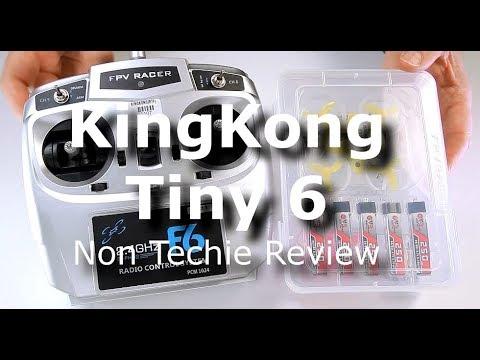 KingKong Tiny 6 65mm Brushed Whoop RTF Racer