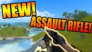 NEW ASSAULT RIFLE ON ROBLOX ROVIVE!