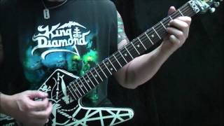 How to play King Diamond Welcome Home on guitar