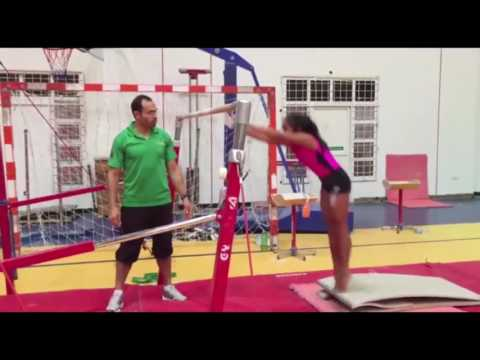 Alexis Walker -Week 6 Gymnast of the Week at Dubai Olympic Gymnastics Club