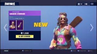 NEW DREAMFLOWER and FAR OUT MAN Skins Out Now September 2nd-Fortnite Battle Royale Daily Item Shop