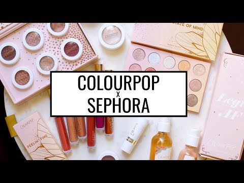 BEST AND WORST: COLOURPOP X SEPHORA COLLECTION REVIEW!