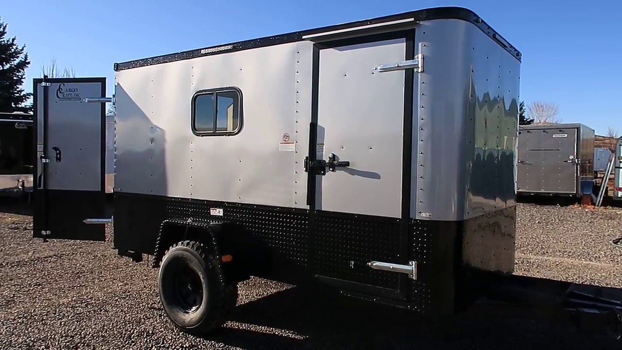 New 6x12 Off Road Cargo Trailer 32 Inch Mudterrains