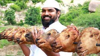 Goat Heads Biryani | KING OF BIRYANI'S| Nawabs Kitchen For Orphans