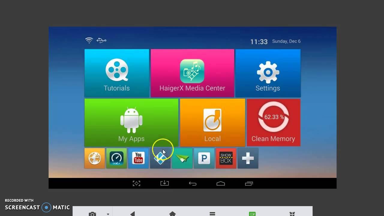 Kodi Android Tv