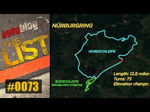 Drive the Nurburgring | The List | Autoblog