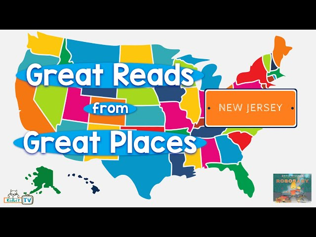 Great Reads from Great Places David Wiesner's ROBOBABY New Jersey