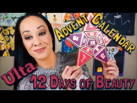 Ulta 12 Days of Beauty Advent Calendar... there is a hairball in the eyeshadow!!