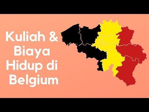 Kuliah dan Biaya Hidup di Belgium